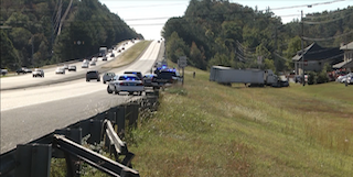 Two-Vehicle Crash Near Intersection of Highway 280 and Shelby County 280