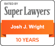 Super Lawyers Josh J. Wright 10 Years